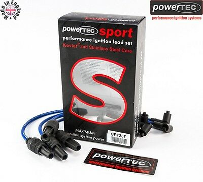 PowerTEC Sport 8mm Ignition Leads Cables Citroen Saxo Xsara 1.1 1.4 1.6 VTR VTS