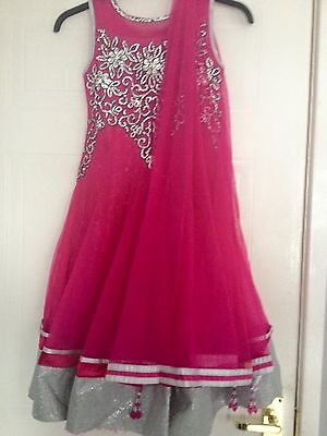 Indian Pakistani Anarkali Maxi Party Wear Dress For Girls