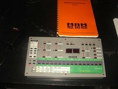 MAM SQ 16 SQ16 SQ-16 Hardware Sequencer
