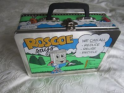 Roscoe tin lunch box