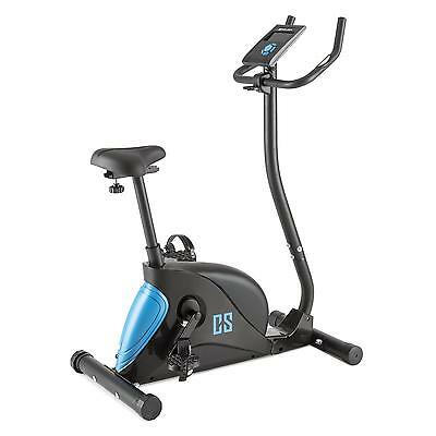 Home Gym Fitness Machine Black Pedal Cardio Bike Bicycle Magnetic 8 Level Pulse