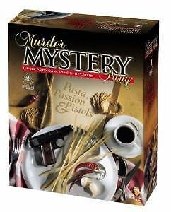 Murder Mystery Party Games - Pasta, Passion & Pistols 33201 University Games