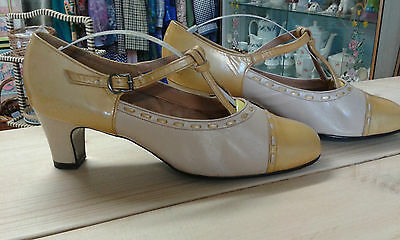 Leather Vintage Elmdale Made in england shoes - Size 6 1/2