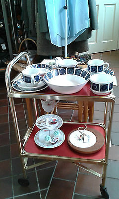 Vintage hostess trolley with removable tray - SALE £5 off!