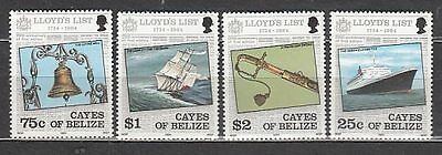 Belize-Cayes Correo Yvert 10/3 ** Mnh