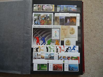 Norfolk Island 2006 & 2007 Complete Year Sets Unmounted Mint