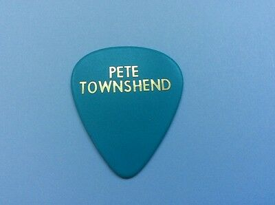 Pete Townshend - The Who - Guitar Plectrum -Pick - Collectible Rare