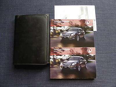 Vauxhall Insignia 2008-2013 Handbook Owners Manual Pack & Wallet Print 08.2010