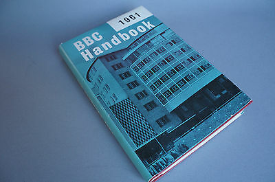 BBC Handbook 1961 Television Centre vintage broadcasting info
