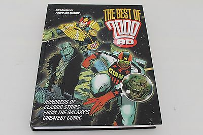 The Best of 2000AD - Hardback - Good Condition - Free Postage