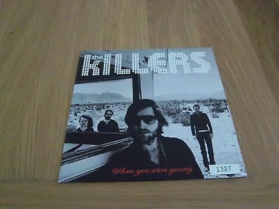 """The Killers 7"""" Vinyl When You Were Young"""