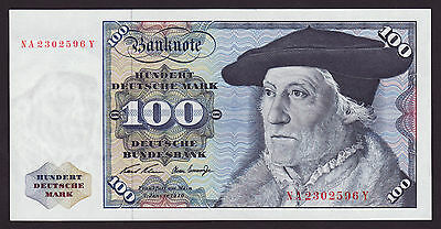 GERMANY  -  100 mark,1970  -  P 34a  -  UNC