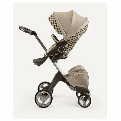Stokke Stroller Seat Style Kit - Beige Cube ( 395000 ) Manufactured 2014