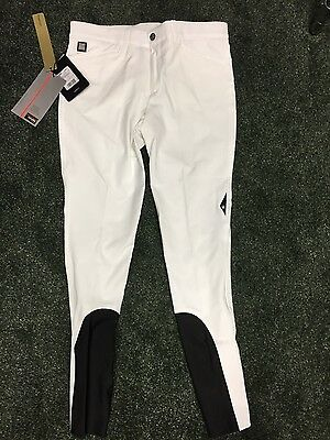 Equiline Willow Mens Breeches in White - Size 36