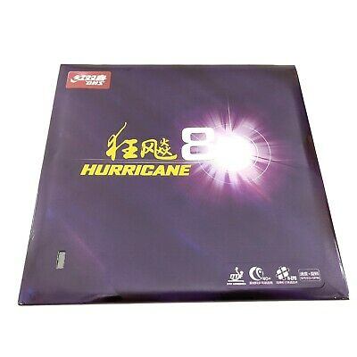 Double Hapiness DHS table tennis rubber hurricane 8 ITTF approved