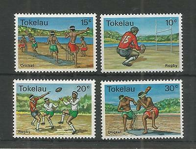 Tokelau 1979 Local Sports Sg,69-72 U/mm Nh Lot 2564A
