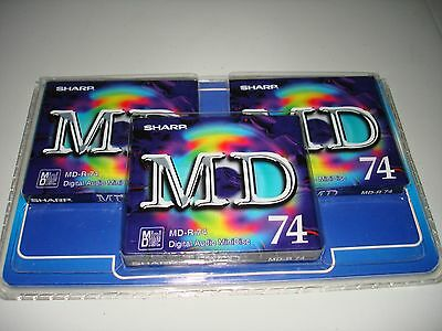 Sharp Md-R 74  Recordable Minidisc