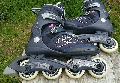 K2 Athena women's inline skates soft boot.Size 8.Limited edition