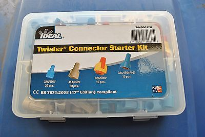 10 x Ideal Twister® Twist-On Wire Connectors Starter Kit (30-5001EU). Job Lot