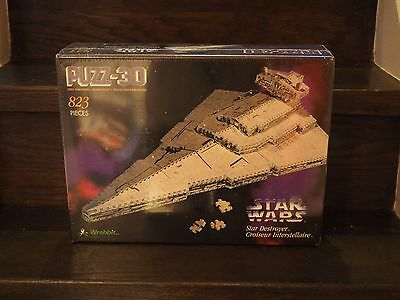 STAR WARS IMPERIAL STAR DESTROYER PUZZ 3D 1996 PUZZ3D puzzle 823pcs