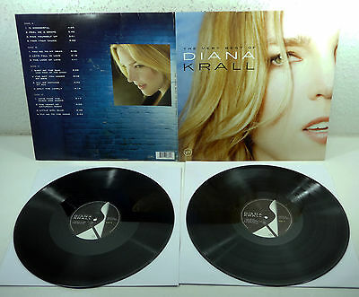 """DIANA KRALL """"The Very Best of Diana Krall"""" 2007 Vinyl 2-LP Verve fold-out"""
