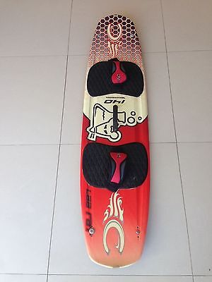 Cabrinha Lab Rat 140 Kite Surf Board & Bag