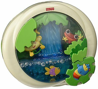Rainforest Peek-a-Boo Soother Baby Waterfall Kids Toys Fisher-Price Toy Game Fun