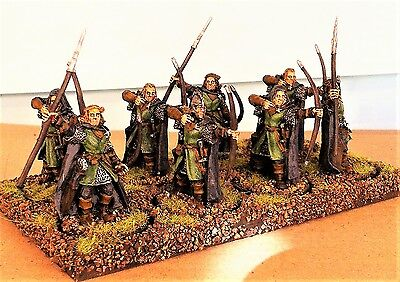 Warhammer lotr metal, painted   Rangers of the North