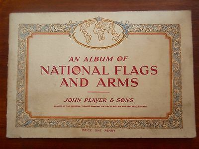 John Player Cigarette Card Album National Flags and Arms 1936