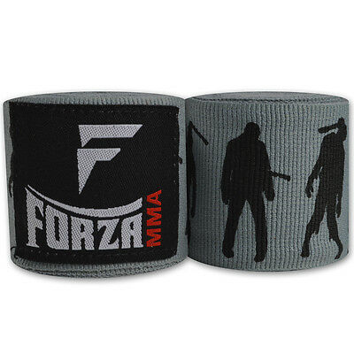 "Forza 180"" Mexican Style Boxing Handwraps - Zombie Gray"