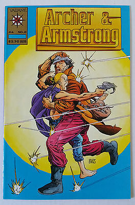 Archer And Armstrong #0 Zero - Gold Logo Variant - Valiant Comics Volume 1 - Nm