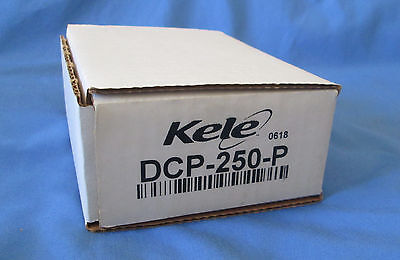 Kele DCP-250-P New In Box Enclosed Regulated Power Supply 120VAC to 24VDC Out