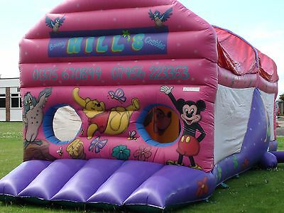 Large Disney Fun Run inflatable Bouncy Castle