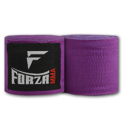 "Forza 180"" Mexican Style Boxing Handwraps - Purple"