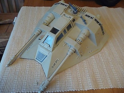 Vintage Star Wars vehicle ESB Snowspeeder complete and working