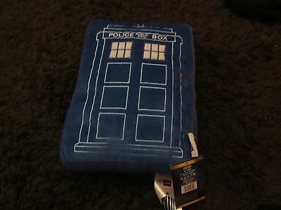 New Doctor Who Call Box Cushion