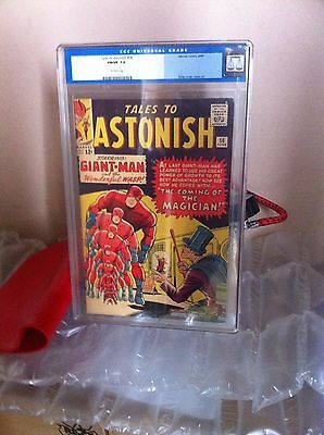 Tales To Astonish # 56 Us Marvel 1964 Giant Man Cgc 7.0 Fn-Vfn