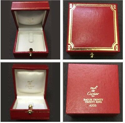 Vintage Cartier Ring Jewelry Box Case 4205.  Excellent Condition!