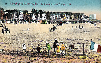 Carte postale ancienne CPA Le Touquet Paris Plage
