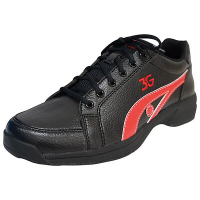 3G Sneaks Bowling Shoes Black/Red
