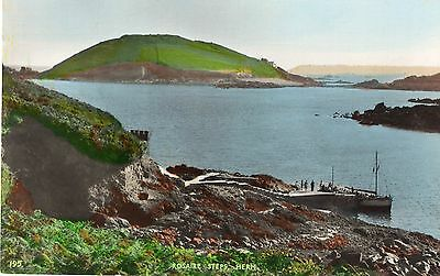 Herm, The Harbour By Grut