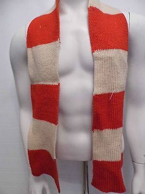 1970's Style Knitted Football Scarf