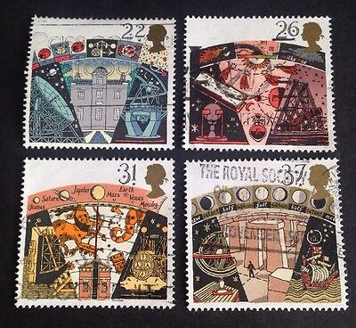COMMONWEALTH - GB 1991 ASTRONOMY Set (4) Used Stamps
