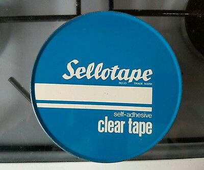 sellotape tin