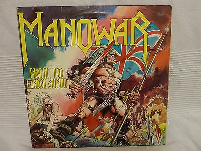 "Manowar - Hail To England - vinyl, record, 12"" - Heavy Metal"