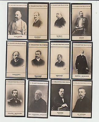 Felix Potin 2nd series trade cards c1905 - group of 24 cards