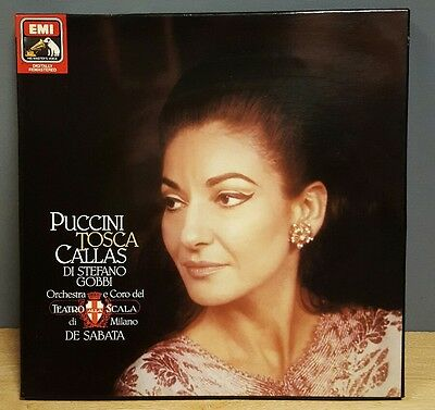 Giacomo - Puccini Tosca His Masters Voice Stereo 2Lp Box Set  Uk Issue