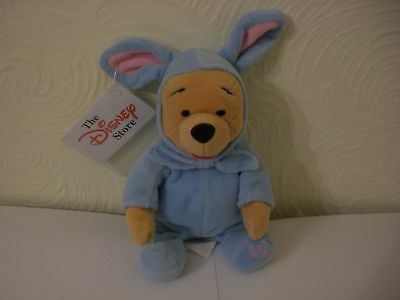 Disneystore Pooh Easter 1999 Beanie Plush MINT