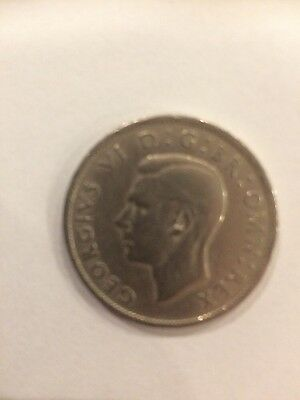 King George VI 1947 Two Shillings