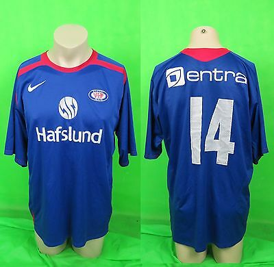 Valerenga IF 2006 player issue home shirt no. 14 (Melkadze) size XL